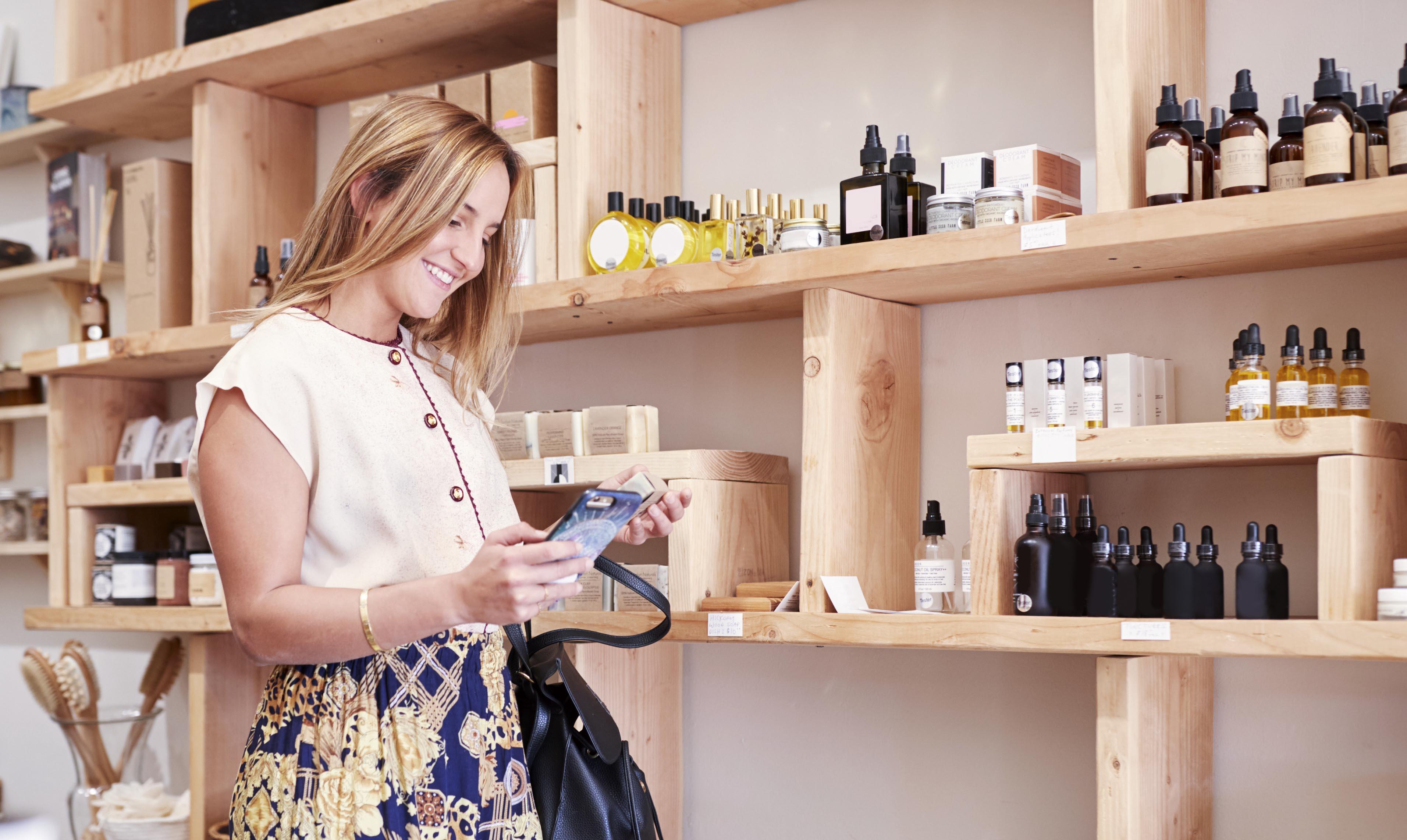 Digitale Rubbellose im Einzelhandel